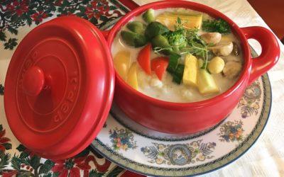 伯爵花椰燉鍋