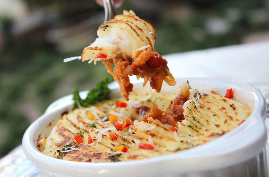 普羅旺斯焗烤薯泥燉菜