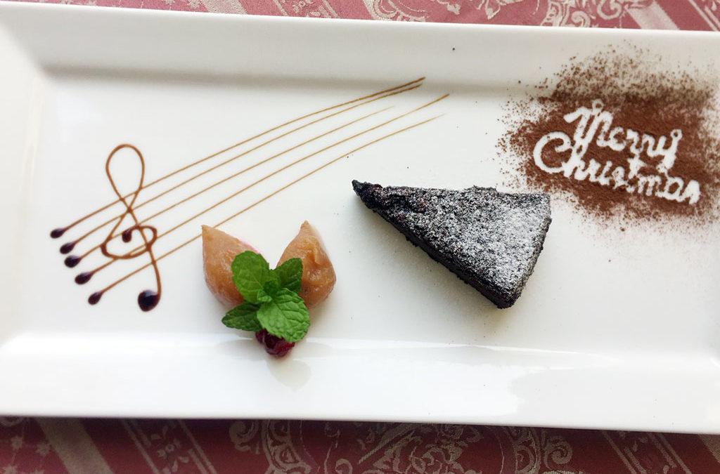 主廚甜點巧克力布朗尼